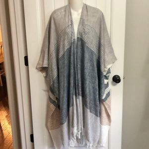 Lovestitch Duster Open Front Cover OSFA